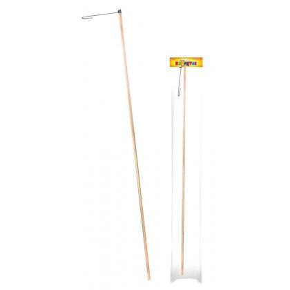 Tyčka na lampion - dřevěná (10) Rappa