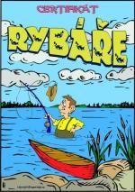Certifikát rybáře - č.08 (26)