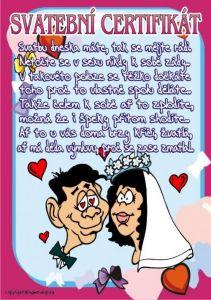 Certifikát Svatební certifikát - č.70  (26)