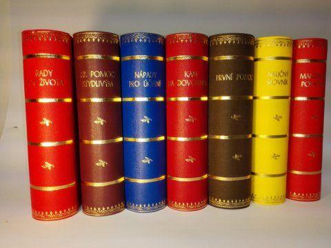 Knihana Naučný slovník malá (70A,B) Knihařství