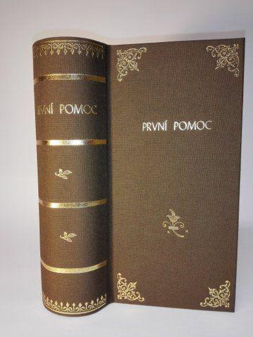 Kniha První pomoc malá (70A,B) Knihařství