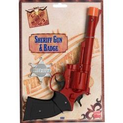 Pistole + hvězda šerifská (66) Smiffys.com