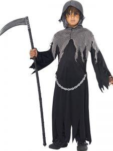 Dětský kostým - Grim reaper - trhan - M (86-C)