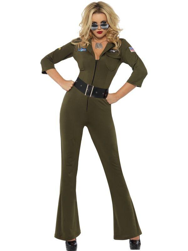 Kostým - Top Gun - kombinéza- S (87-C) Smiffys.com