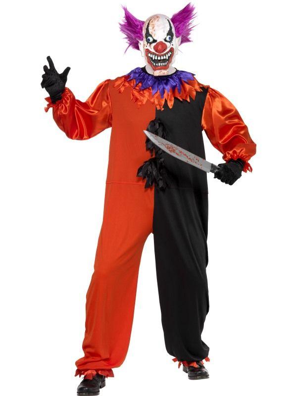Kostým - Klaun horor Smiffys.com