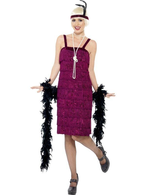 Kostým - Jazz Flapper - Charleston - L (95) Smiffys.com