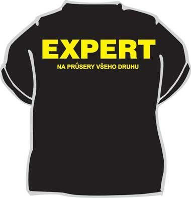 Tričko - Expert... XL (18-H,G) Divja.cz