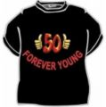 Tričko - 50 Forever young-  XL