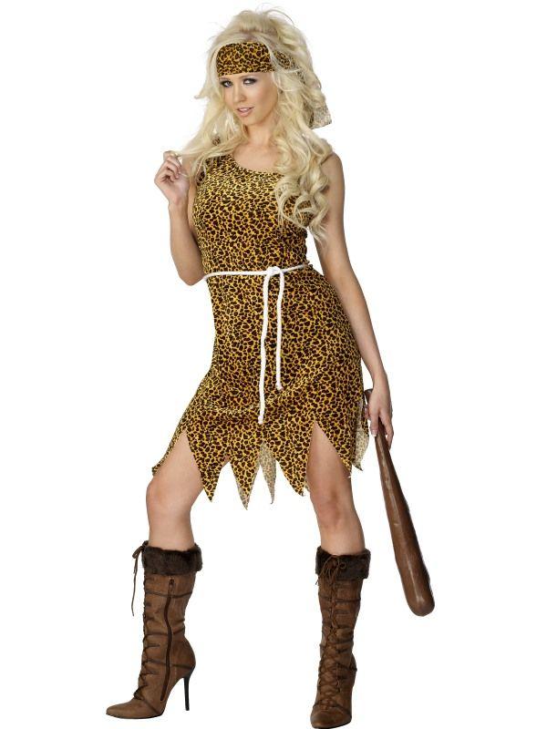 Kostým Jeskynní žena - S (87-C) Smiffys.com
