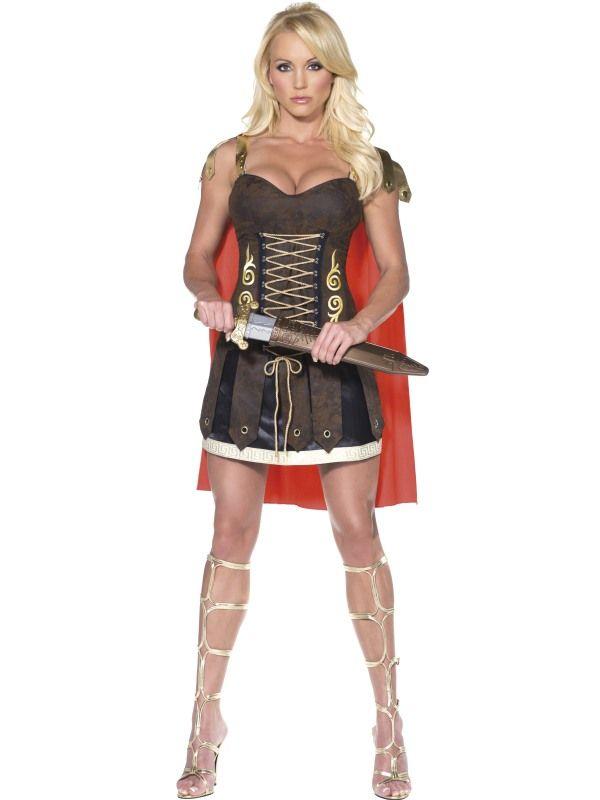 Kostým - Sexy gladiátorka -S Smiffys.com
