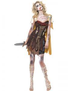 Kostým - Zombie - gladiátorka - M (88-E)