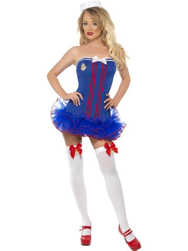 Kostým - Sexy námořnice - S (87-C) Smiffys.com