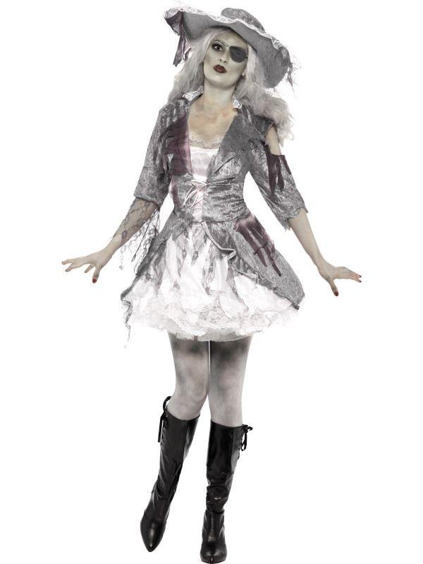 Kostým - Duch pirátského zlatíčka - M Smiffys.com