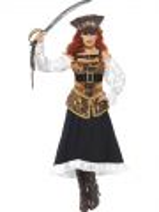 Kostým - Luxusní pirátka - M (88-C)