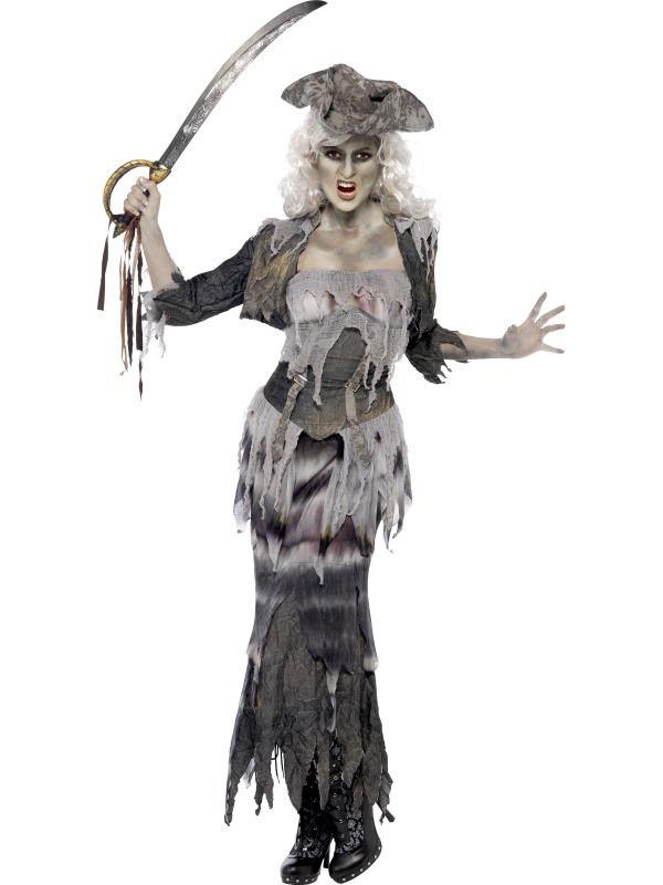 Kostým - Duch pirátky - S (87-E) Smiffys.com