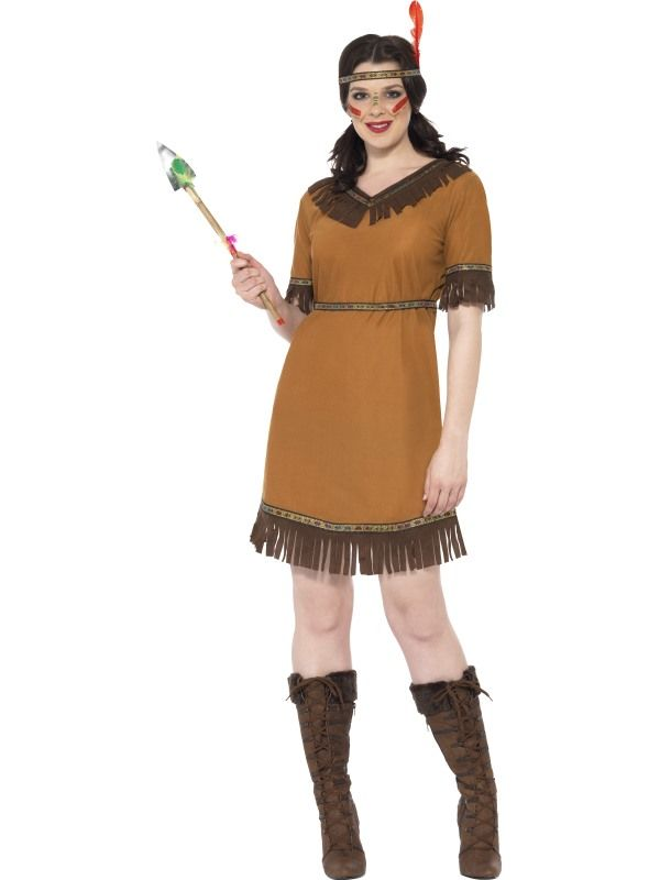Kostým - Indiánská dívka - M (88-C) Smiffys.com