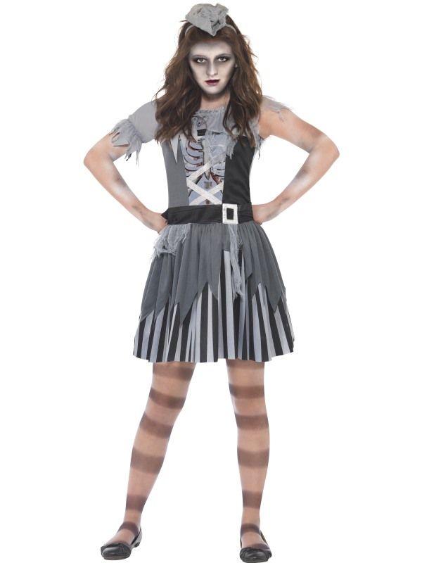 Dětský kostým - Duch pirátky - M (85-D) Smiffys.com