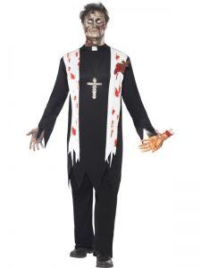 Kostým - Zombie - farář - M (102)