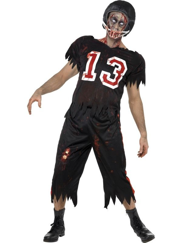 Kostým - High School zombie - fotbalista - M (102) Smiffys.com