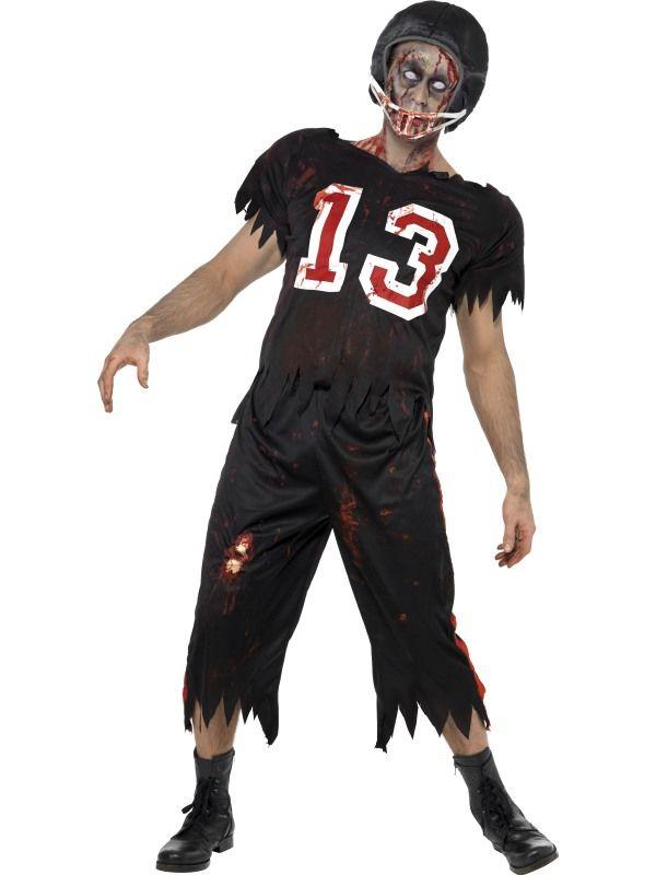 Kostým - High School zombie - fotbalista - S (57) Smiffys.com