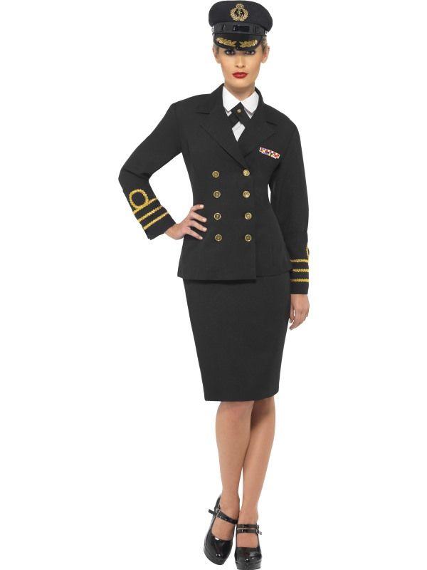 Kostým - námořní kapitánka Smiffys.com