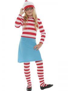 Dětský kostým - Wally Wendy školačka - M