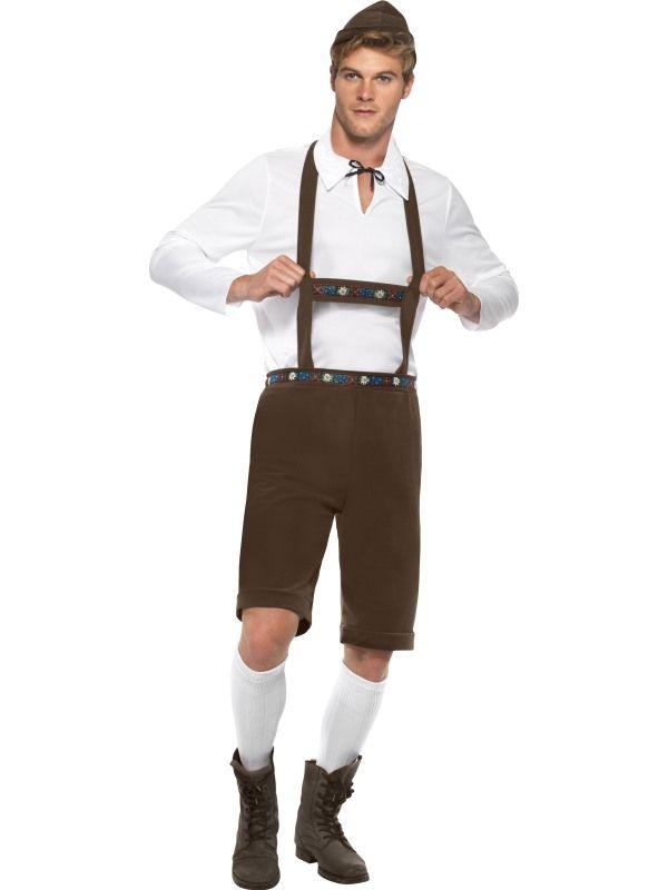Kostým - Bavorský muž Smiffys.com