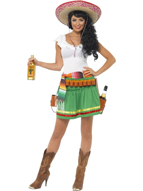 Kostým - mexičanka - XS (87-E) Smiffys.com