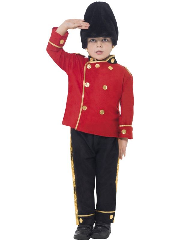 Dětský kostým - Hradní stráž - M (86-C) Smiffys.com
