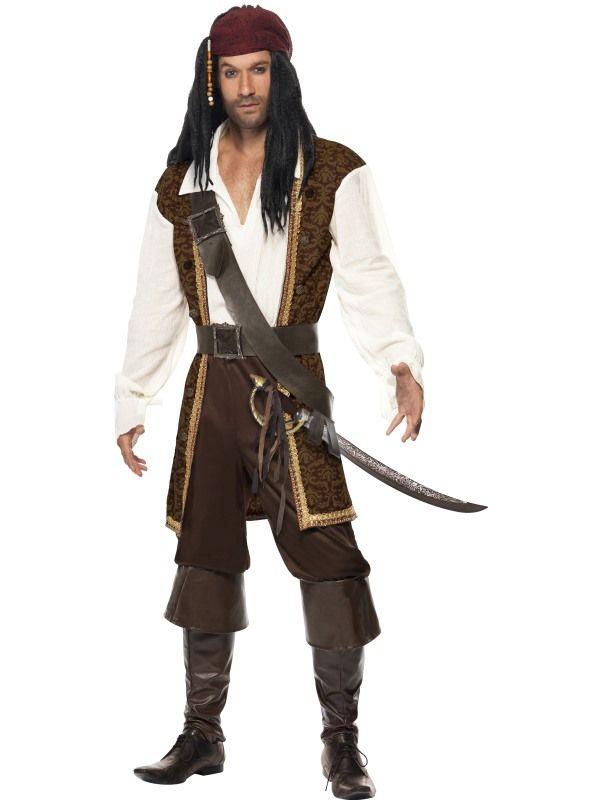 Kostým - Mořský pirát - M (102) Smiffys.com
