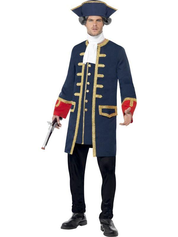 Kostým - Pirátský velitel - M Smiffys.com