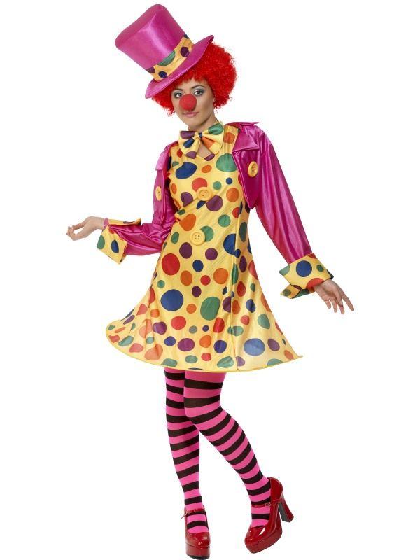 Kostým - Lady Klaun - M (88-E) Smiffys.com