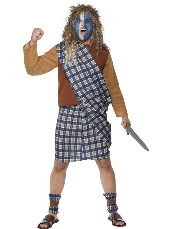Kostým - Skotský bojovník - M Smiffys.com