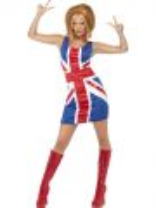 Kostým - Britská vlajka - M