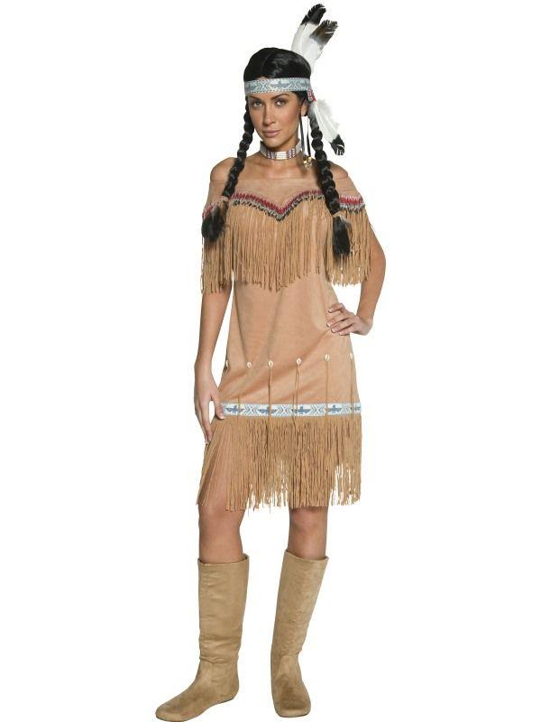 Kostým - Indiánka - S (87-B) Smiffys.com