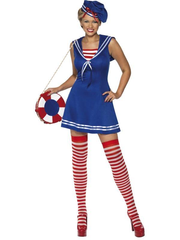 Kostým - Sexy námořnice - M (88-D) Smiffys.com