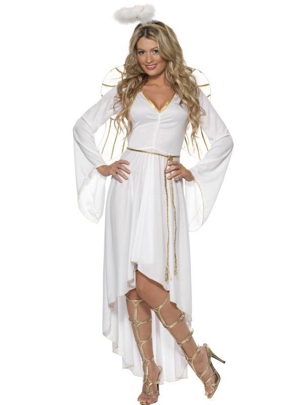 Kostým - Bílý anděl - M (88-E) Smiffys.com
