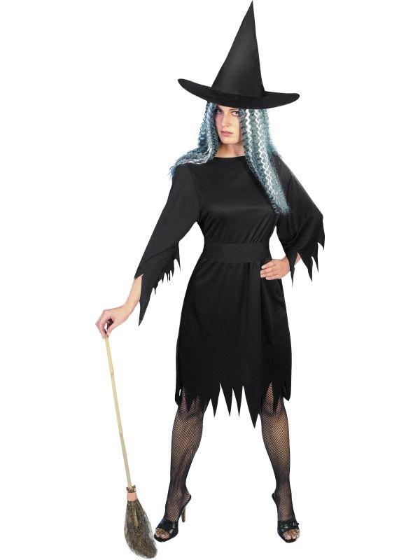 Kostým - Černá čarodějnice - M (88-E) Smiffys.com