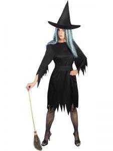 Kostým - Černá čarodějnice - S (87-E)
