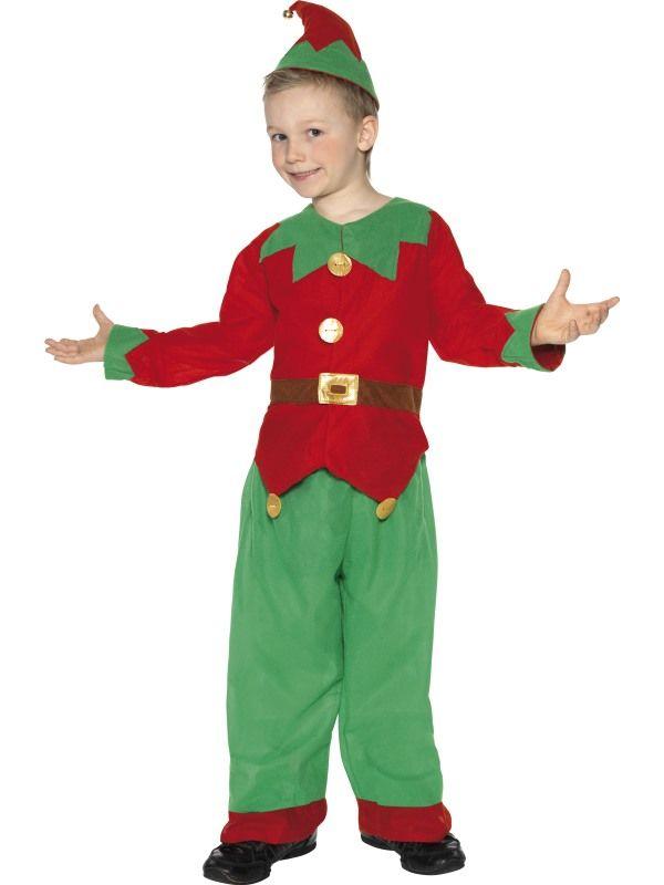 Dětský kostým - Elf skřítek - S (86-B) Smiffys.com