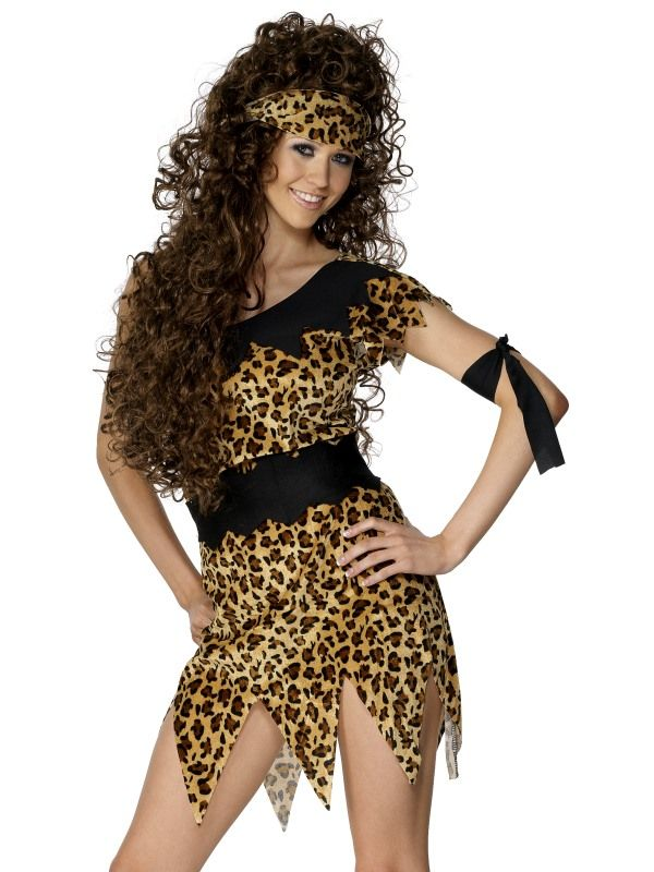 Kostým - Sexy Pravěká žena - M (88-C) Smiffys.com