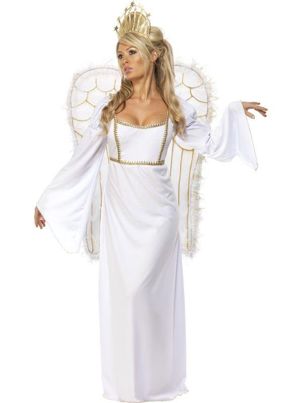 Kostým - Anděl s velkými křídly - M (97) Smiffys.com