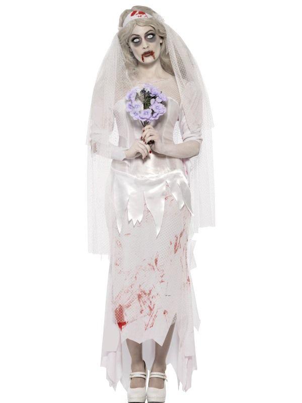 Kostým - Zombie - nevěsta - S (87-D) Smiffys.com