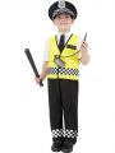 Dětský kostým - Policajt - S (86-B)