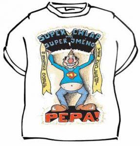 Tričko - Super chlap má super jméno - Pepa! - L