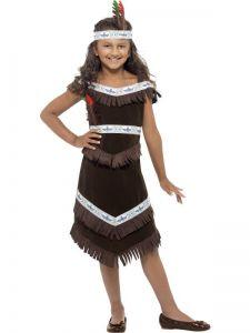 Dětský kostým - indiánka - S (85-B)