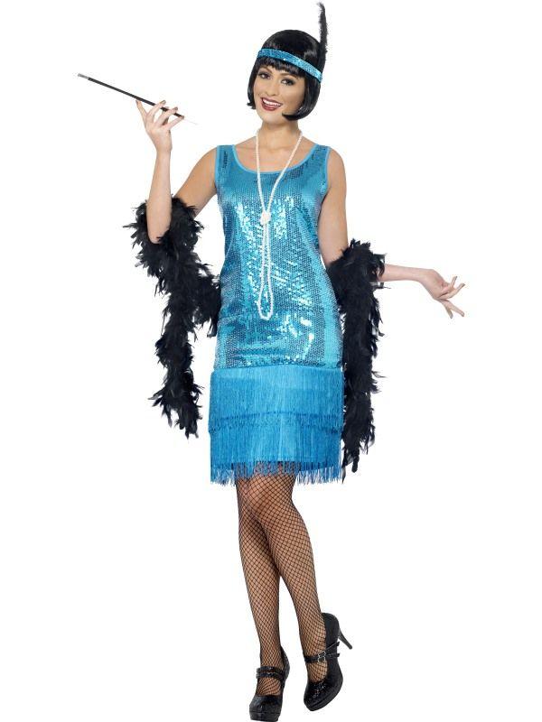 Kostým - Flapper Charleston - S (87-D) Smiffys.com
