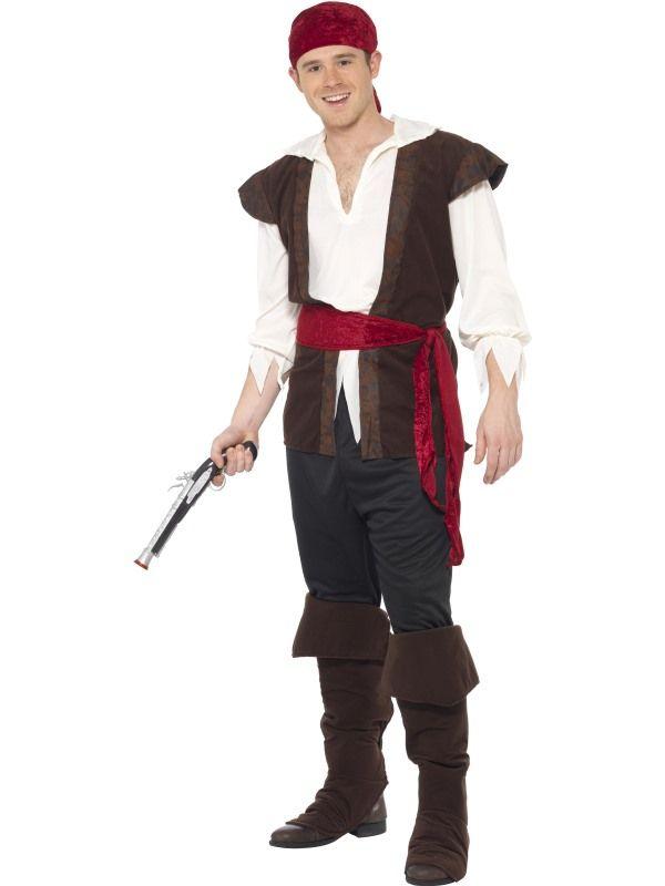 Kostým - Pirát - XL (105) Smiffys.com