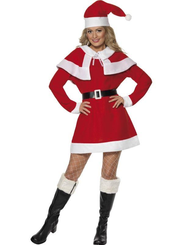 Kostým - Miss Santa - M (88-E) Smiffys.com
