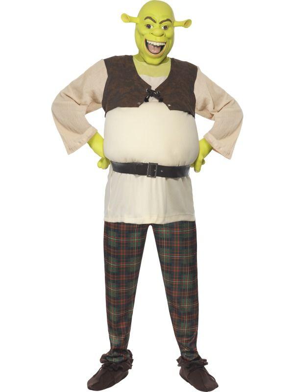 Kostým - Shrek - M (100,124kr01) Smiffys.com